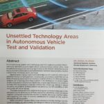 Our research report on autonomous vehicles is published by SAE