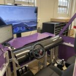 Driving simulator helps students to learn control theory